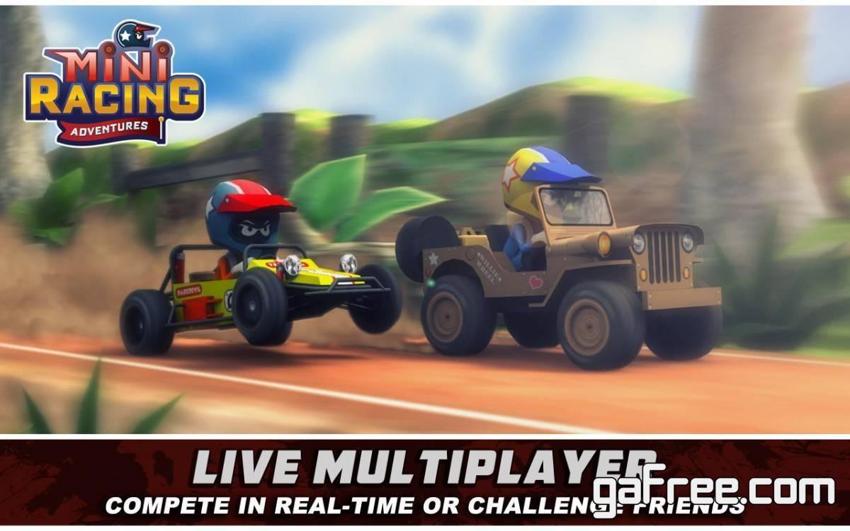 تحميل لعبة سباق سيارات صغيرة Mini Racing Adventures