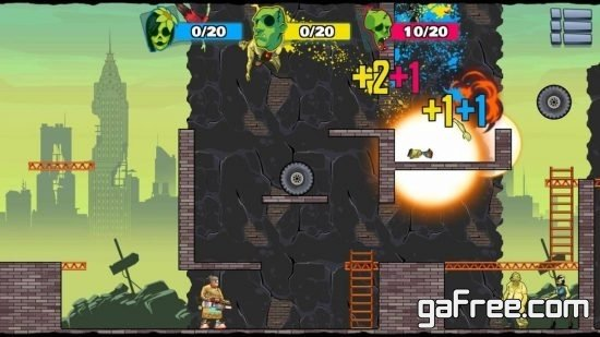 تحميل لعبة قاتل الزومبي Stupid Zombies 3
