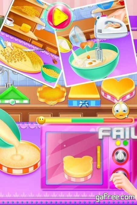 تحميل لعبة طبخ الكيك Cake Cooking Master