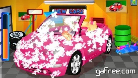 تحميل لعبة غسيل السيارات الرائع Super car wash