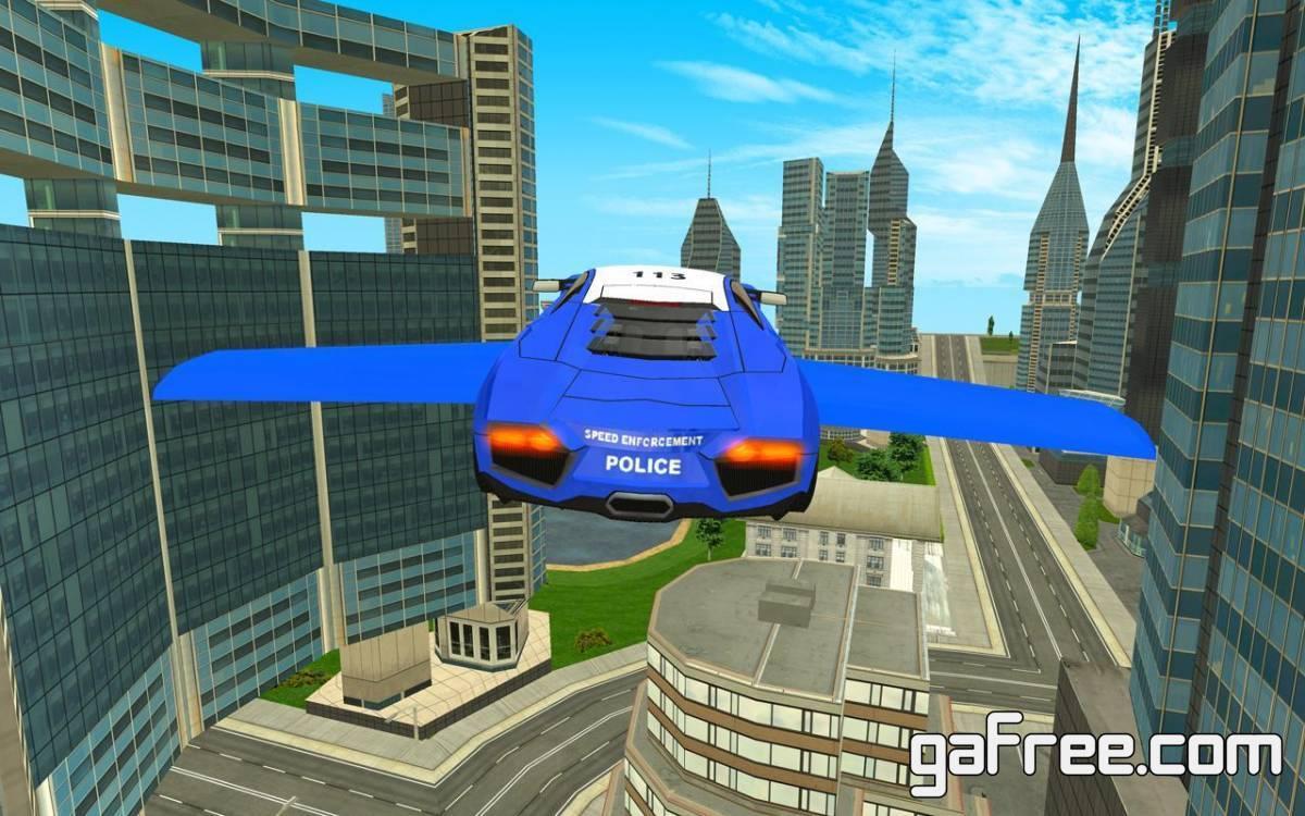 تحميل لعبة سيارات الشرطة الطائرة Police Flying Cars Futuristic Sim 3D