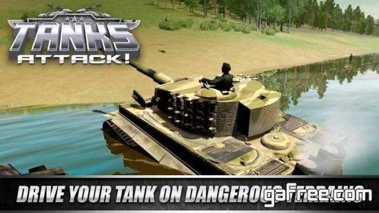 تحميل لعبة حرب خفيفة للاندرويد Tanks Attack