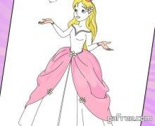 تحميل لعبة تلوين الأميرات للأطفال Princess Coloring Book