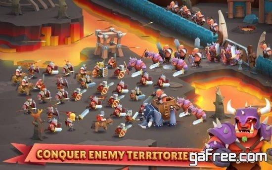 تحميل لعبة الدفاع استراتيجية للاندرويد Game of Warriors