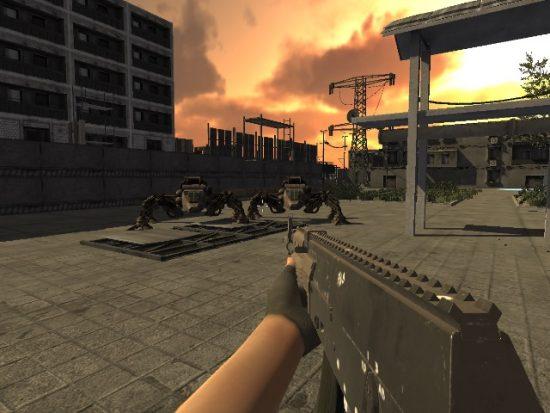 تحميل لعبة حرب الاليين Invasion Of Mechanical Enemies