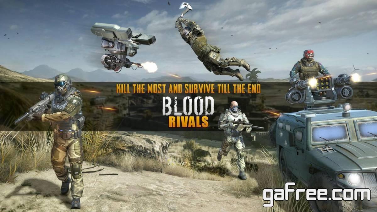 تحميل العاب البقاء على قيد الحياة للاندرويد Blood Rivals