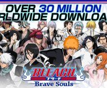تحميل لعبة قتال الشوارع اليابانية BLEACH Brave Souls