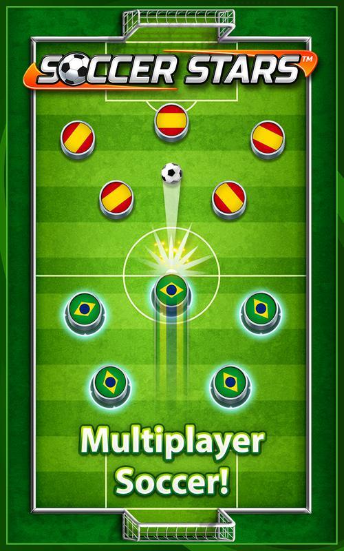 تحميل لعبة كرة القدم المصغرة الاندرويد Soccer Stars