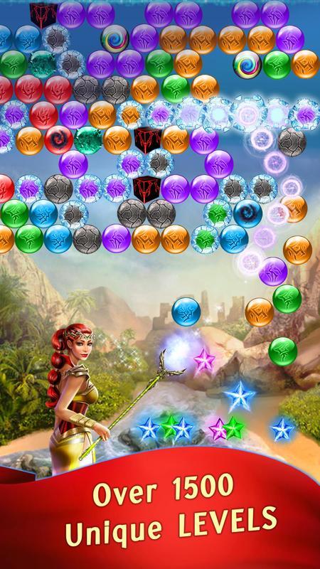 تحميل لعبة الفقاعات الملونة للاندرويد Lost Bubble