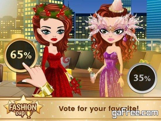 تحميل لعبة عالم ازياء باربي Fashion Cup - Dress up Duel
