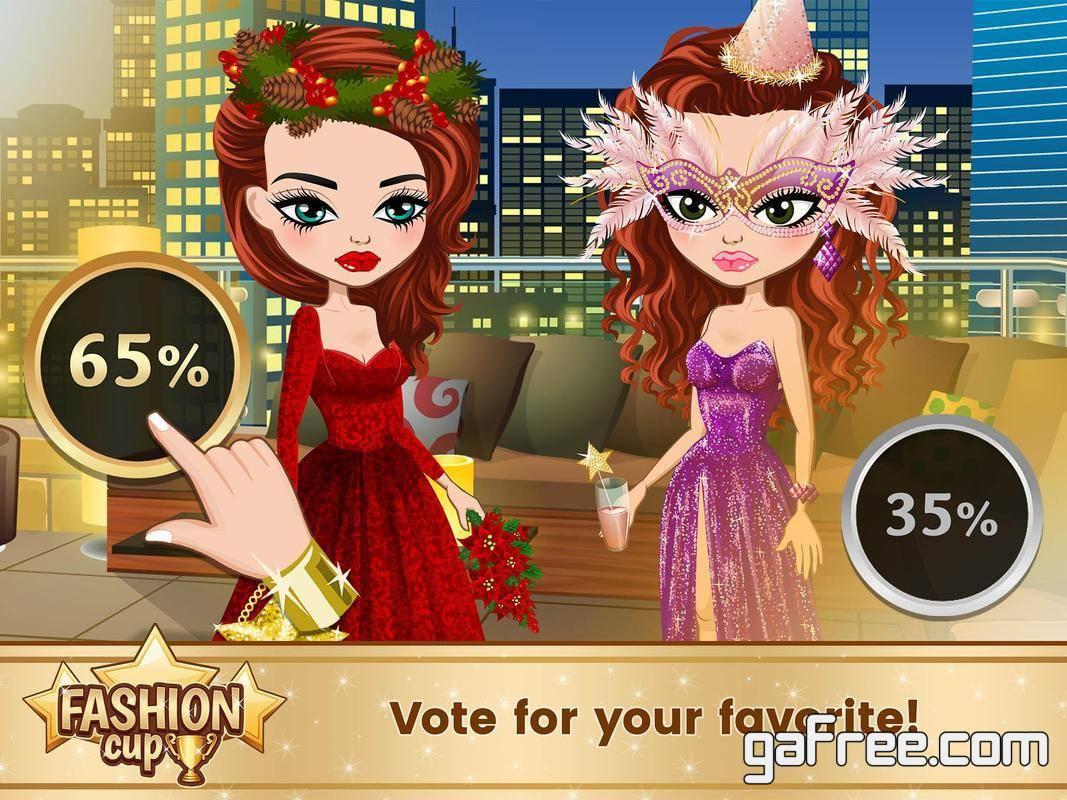 تحميل لعبة عالم ازياء باربي Fashion Cup – Dress up Duel