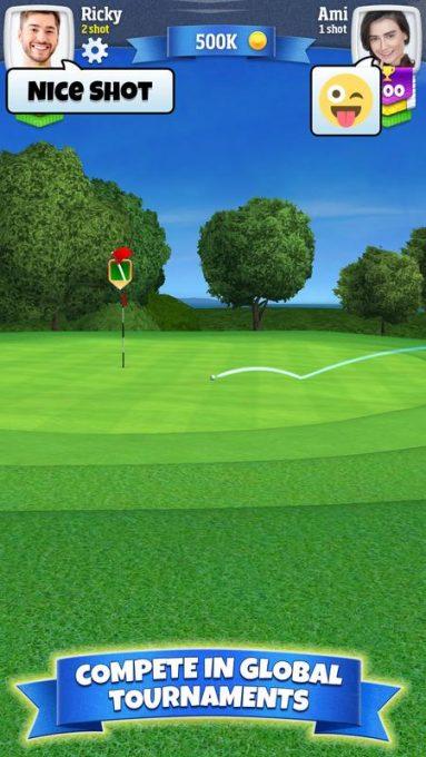 تحميل لعبة الجولف للاندرويد مجانا Golf Clash