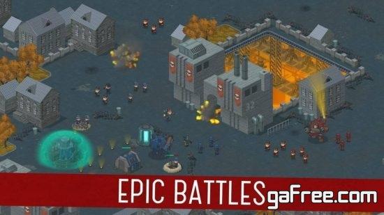 تحميل لعبة حرب للموبايل War Alert Red Lords