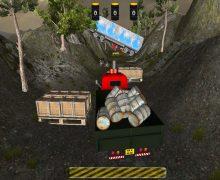 لعبة شاحنات نقل البضائع Crazy Road