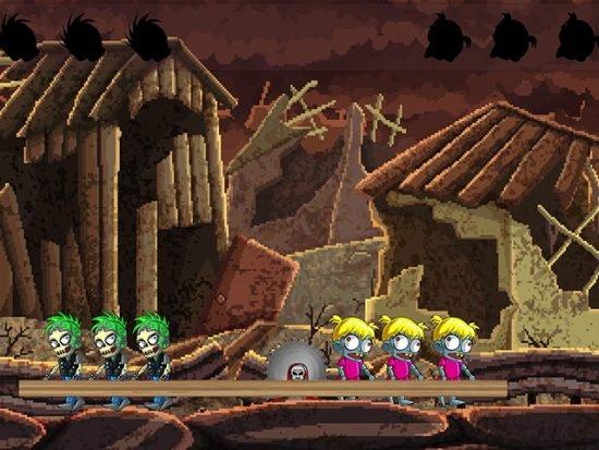 تحميل لعبة عالم الزومبي العجيب للكمبيوتر Zombie Baby Vs Zombie Pank