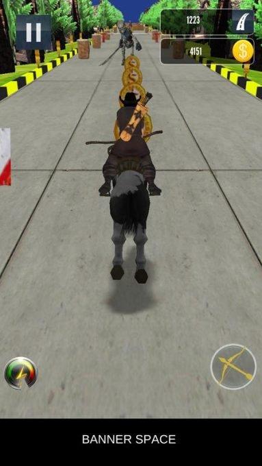 تحميل لعبة ركوب الخيل Street Archer Run