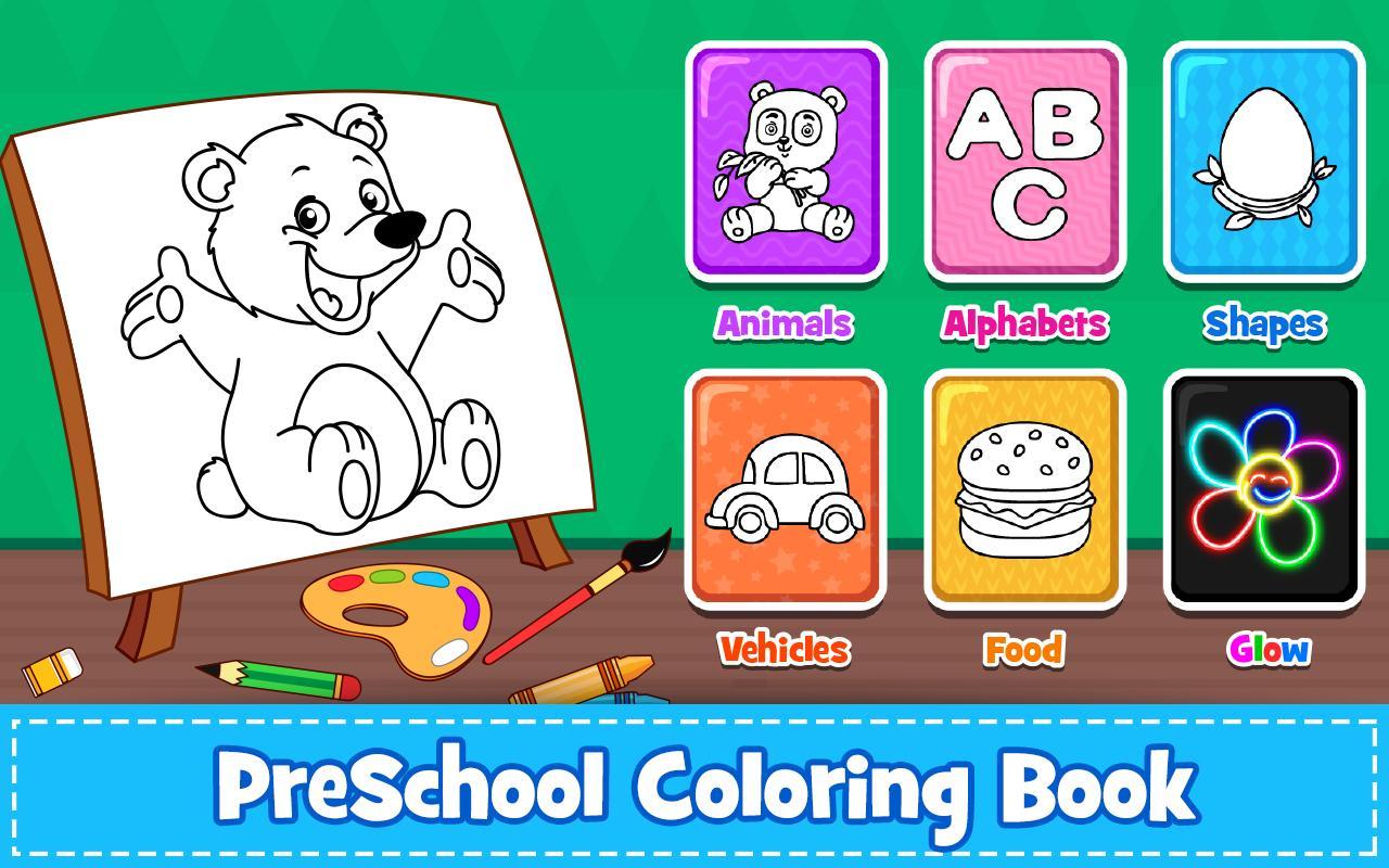 تحميل لعبة التلوين للاطفال مجانا Coloring Games