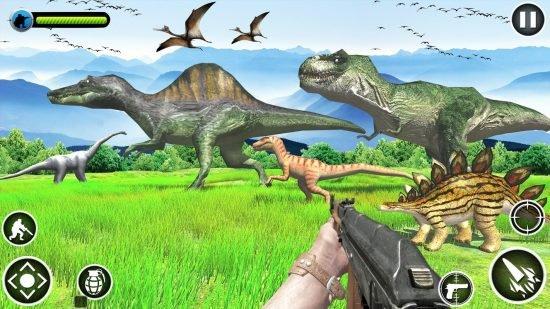 تحميل لعبة الديناصورات المتوحشة Dinosaurs Hunter