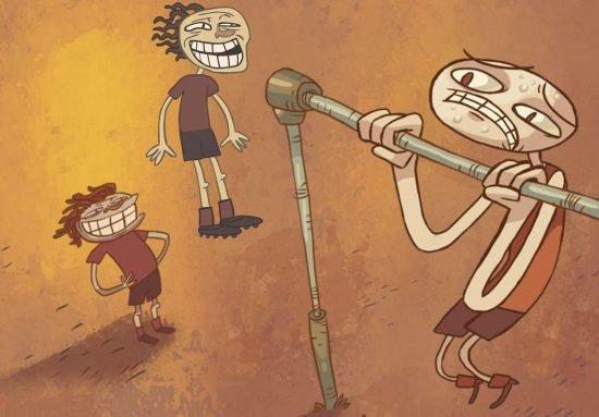 لعبة مغامرات وتحديات Troll Face Quest: Sports Puzzle