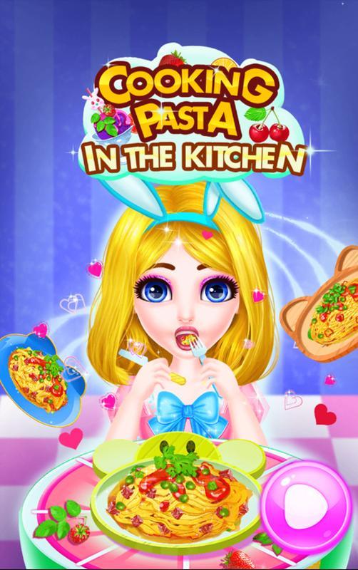 لعبة طبخ المكرونة الايطالية Cooking Pasta