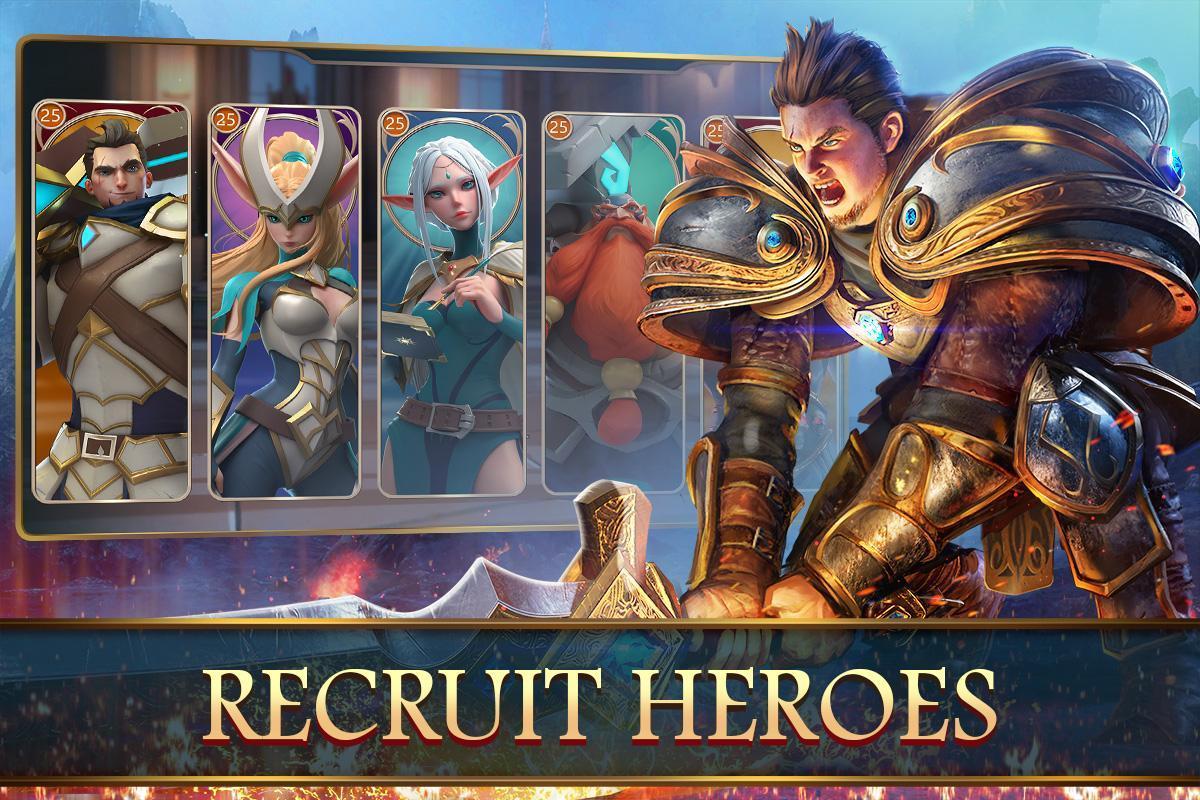 تحميل لعبة الاستراتيجية القتال للاندرويد Mobile Royale