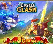 تحميل لعبة الاستراتيجية Castle Clash