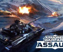 تحميل لعبة حرب الدبابات الجديدة للاندرويد Armored Warfare: Assault