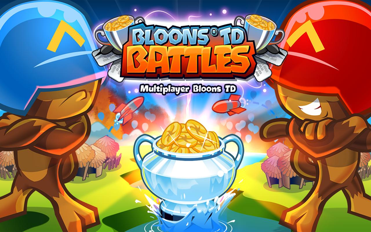 تحميل لعبة الحرب الدفاعية للاندرويد Bloons TD Battles