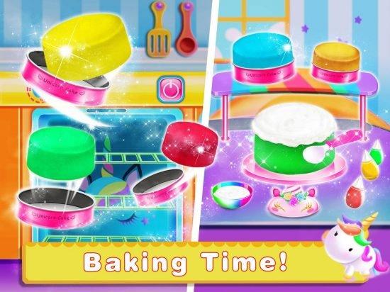 تحميل لعبة صنع الحلويات Unicorn Food-Children