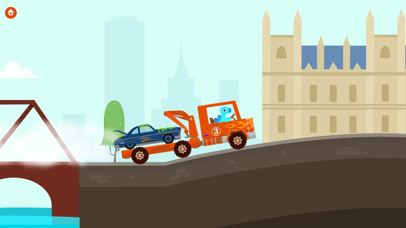 تحميل لعبة سيارة النقل Dinosaur Rescue Trucks