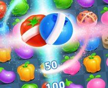تحميل لعبة الحلوى الشهيرة Farm Crush