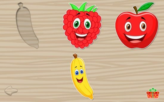 Fruits Puzzles for Kids