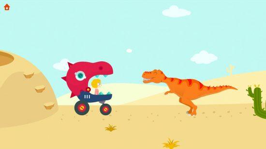 تحميل لعبة مغامرات الاطفال Jurassic Dig Free