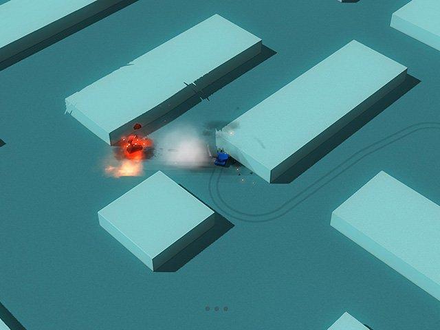لعبة حرب الدبابات للكمبيوتر برابط واحد Tanks Blast