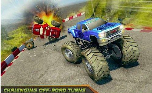 تحميل لعبة سباق السيارات الخطيرة Offroad Monster Truck Racing Legends