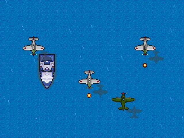 تحميل لعبة قتال الطائرات الحربية للكمبيوتر مجانا Air Threat