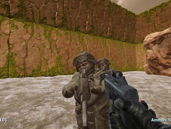 تحميل لعبة حرب الفضاء للكمبيوتر مجانا Alien Land Arena