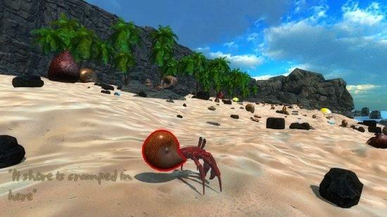 تحميل لعبة المغامرات على شاطئ البحر Gone Crab