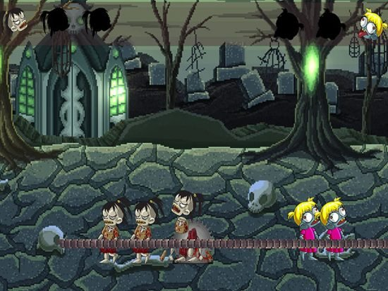 تحميل لعبة الزومبي ضد الزومبي Zombie Baby Vs Zombie Girls