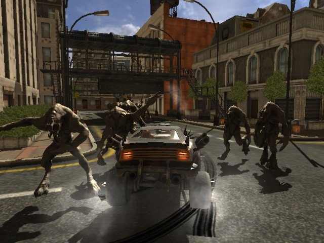 تحميل لعبة سيارة دعس الزومبي الجديدة للكمبيوتر برابط مباشر Zombie Farsh