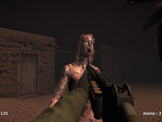 تحميل لعبة الحرب الاخيرة ضد الزومبي Zombies In The Desert