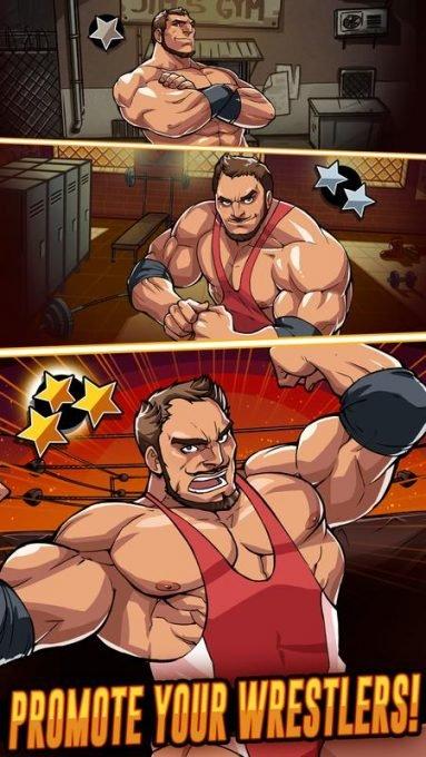 تحميل لعبة المصارعة الجديدة The Muscle Hustle
