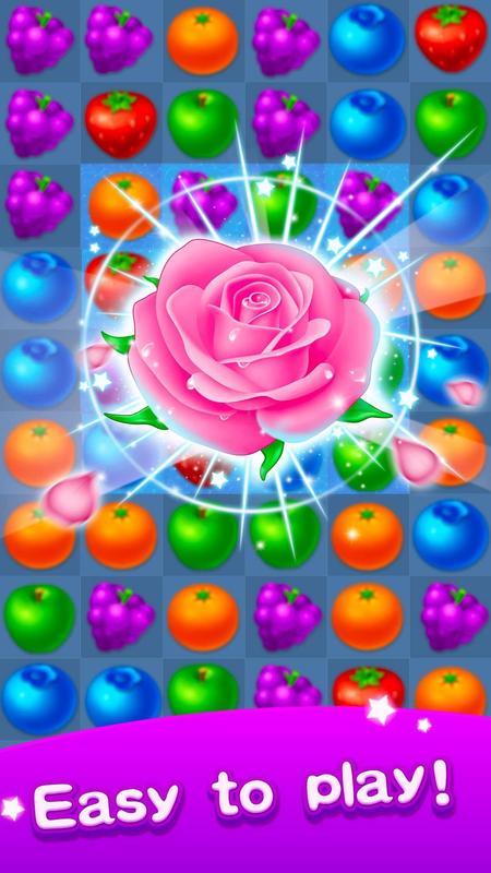 تحميل لعبة الفواكه للاندرويد Fruit Puzzle – Link Line