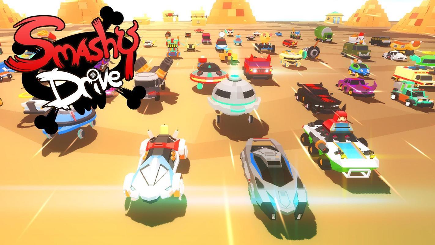 تحميل لعبة السيارات الصغيرة الجديدة Smashy Drive