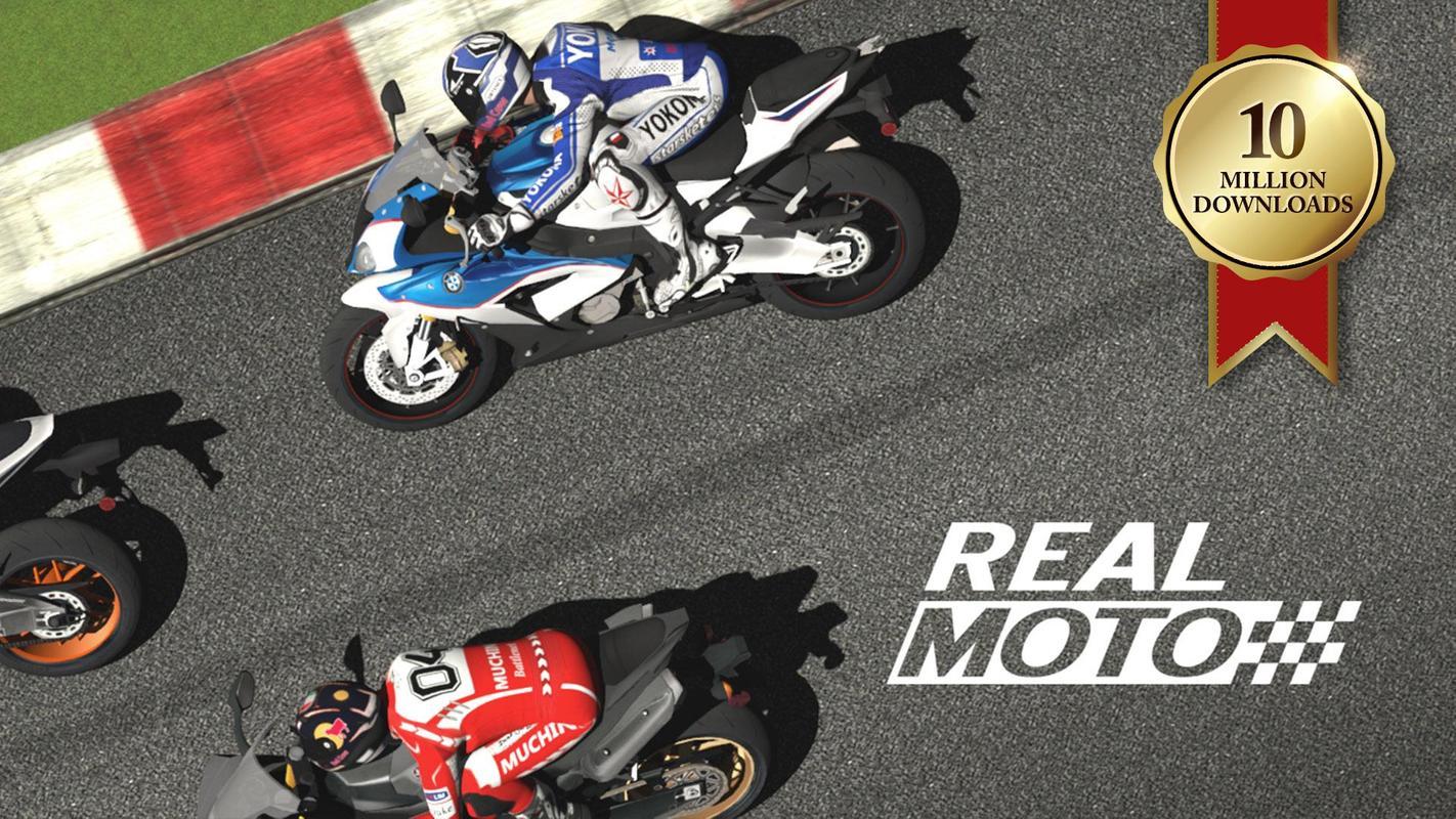 تحميل لعبة سباق الدراجات النارية للاندرويد Real Moto