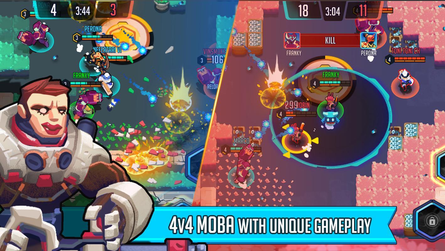 تحميل لعبة الحرب مصغرة Heroes Strike