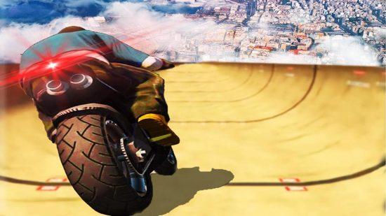 تحميل العاب دراجات نارية خطيرة للاندرويد Impossible Mega Ramp