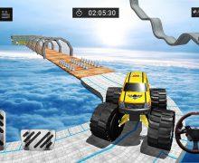 تحميل لعبة القيادة بالطرقات الصعبة 3D Grand Monster Truck Stunts Driver