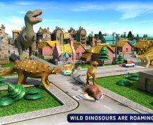 تحميل لعبه هجوم الديناصورات Deadly Dinosaur Battle Attack City
