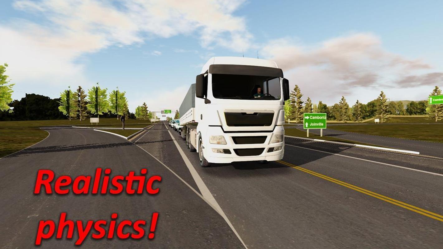 تحميل لعبة محاكاة الشاحنات للاندرويد Heavy Truck Simulator